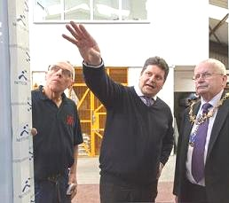 lift engineering march visit mayor