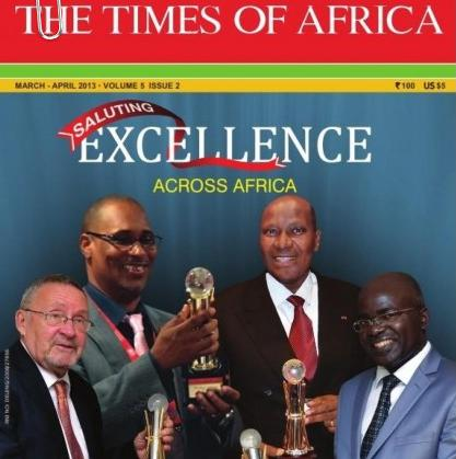 times of africa cover