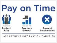 pay on time graphic