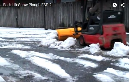 redhill snow plough mounted