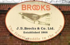 brooks saddles logo