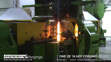 brooks forging hot cell